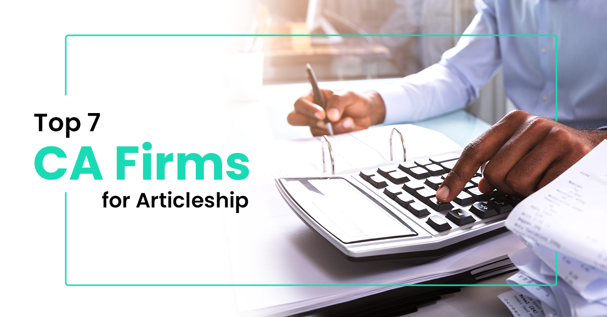 Best CA Firms for Articleship