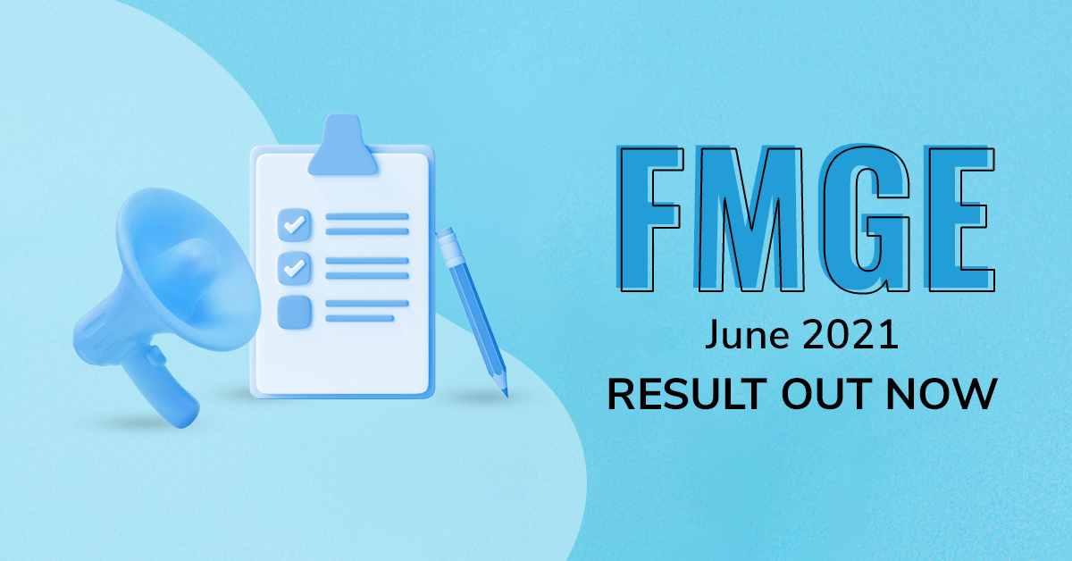 NBE declares result of FMGE June 2021