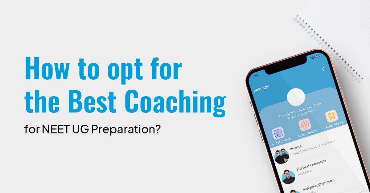 Best Coaching for NEET UG