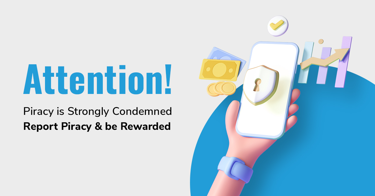 Fight against piracy and copyright infringement with prepladder and win exciting gifts