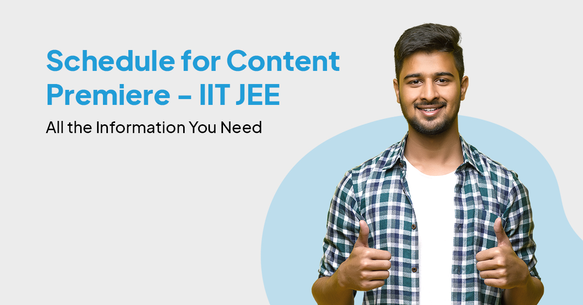 JEE +1 and +2 Syllabus content